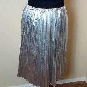 💜 Lularoe Silver Jill Skirt